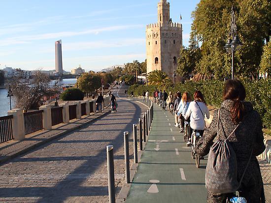 Guadalquivir River and Gold Tower