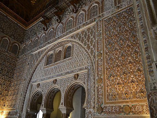 Into Alcazar of Seville