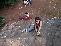 Climbing in Cerro del Hierro