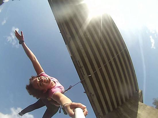Bungee Jumping with GoPRO4