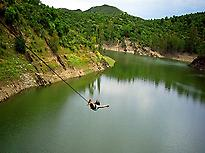 Jumping on the Lake of Agrio