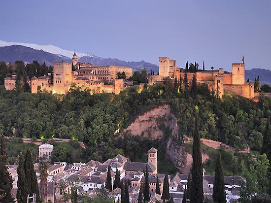 Alhambra From Albaycin