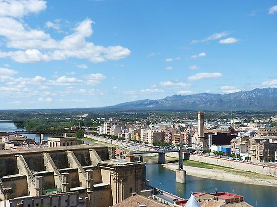 Panoramic views in Tortosa