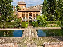 Palacio de Partal  Alhambra de Granada