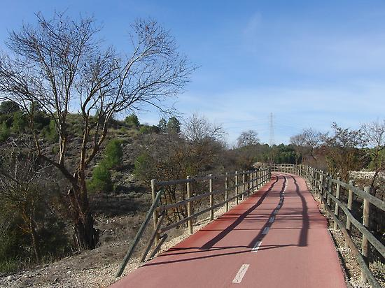 Geenway of the Tajuña