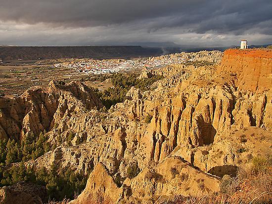 Badlands, Guadix, Natural Monument