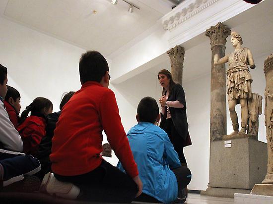 La mitología de Diana.Museo arqueológico