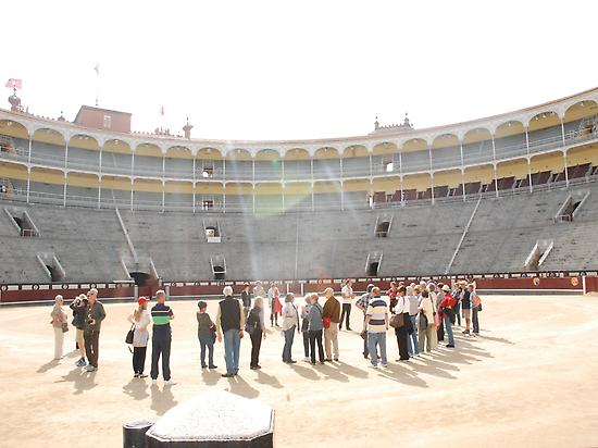 Group visit of Las ventas bullring