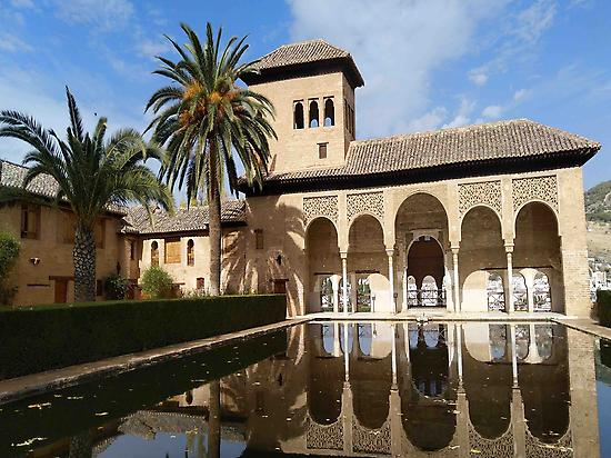 Die Eroberung des Wassers in der Alhambr