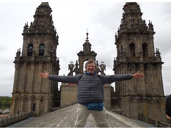 Los tejados de la Catedral de Santiago