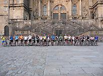Pilgrims in Santiago