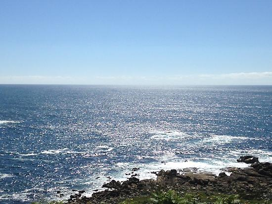 The ocean from the Camino