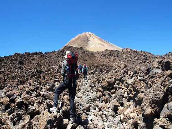 Teide ascent.