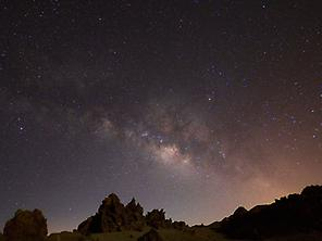 Firmament on Teide.
