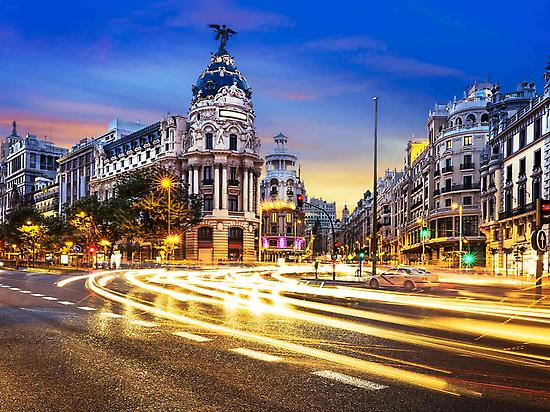 Madrid Sightseeing Night Tour