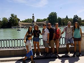 Spanish time in Retiro Park