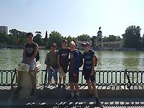 Gymkana in Spanish in Retiro Park