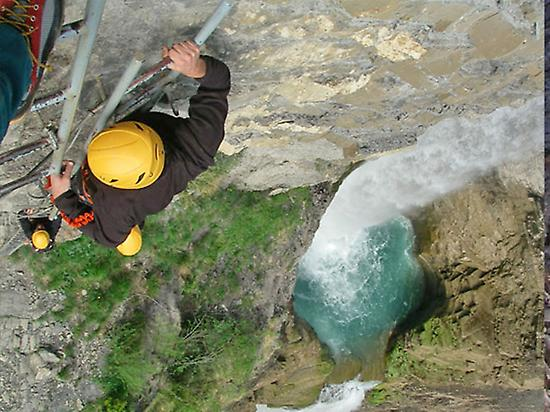 Via Ferrata in Huesca Pyrenees