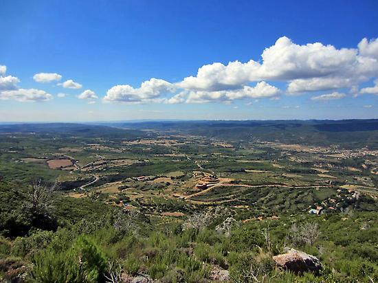 Geo-route through the Mallos de Riglos