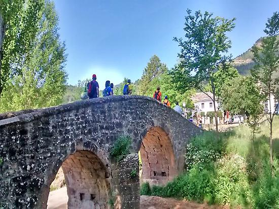 Geo-route of La Pillera ravine