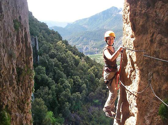 Via Ferrata in Huesca Pyrenees
