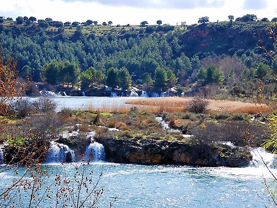 Natural route in Ruidera