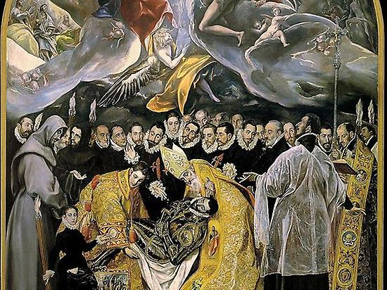 Burial of count Orgaz by el Greco
