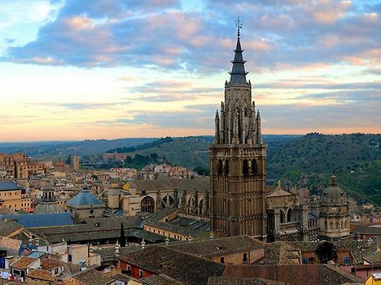 Ansicht von Toledo