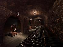 Old part of the cellar