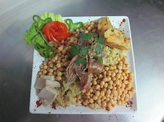 "Typical gastronomy ""Cocido Lebaniego"""