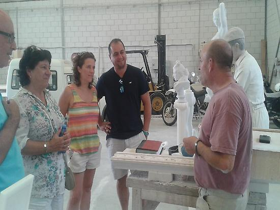 workshop marble sculpture and crafts .