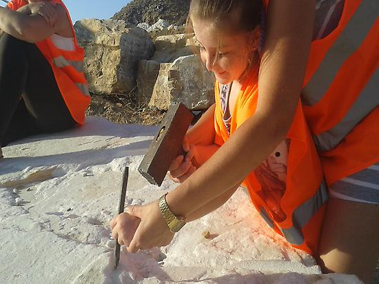 using the tools of the stonemasons ' dec