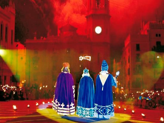 The three Kings Man parade
