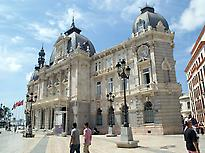 Cartagena´s Town Hall, Square