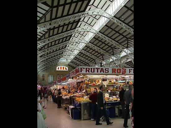 Central Market, Valencia.