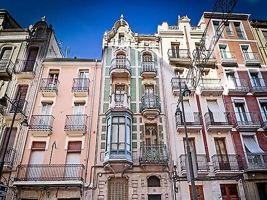 Modernist streets in Alcoy