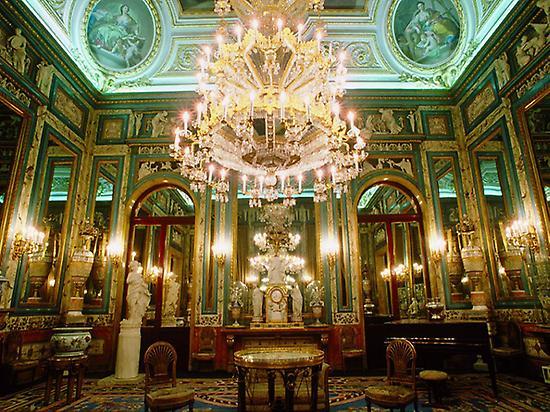 Interior room of the Royal Palace