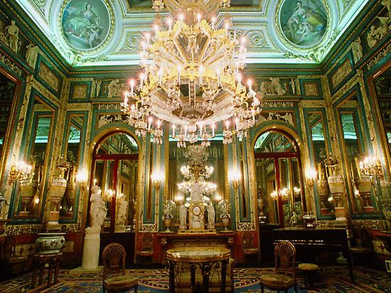 Interior room of the Royal Palace