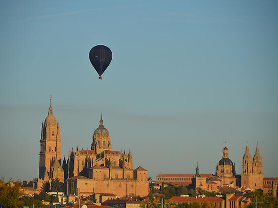 Balloon ride in Salamanca