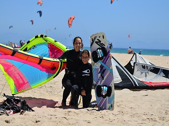 Kitesurfing lesson for kids