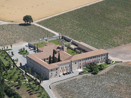 ABADIA DE RETUERTA FROM THE SKY