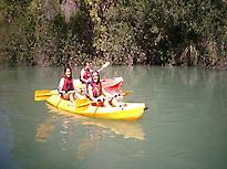 Kayak en Cañón de almadenes. Calasparra