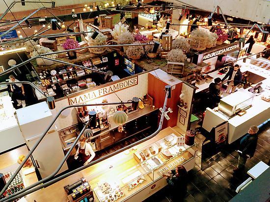 Puestos Mercado de San Antón