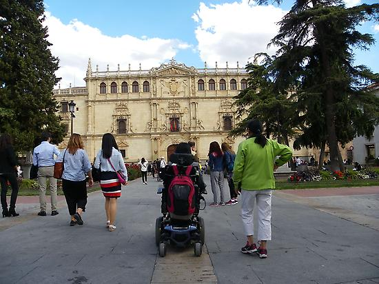 Accessible tour in Alcala de Henares