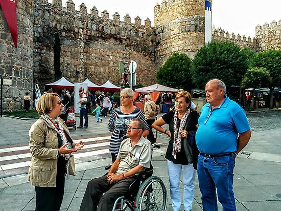 Wheelchair accessible tour in Avila