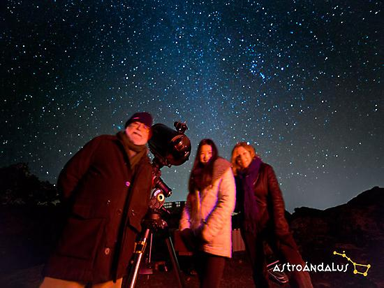 Stargazing experience for couples.