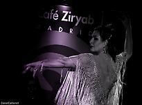 La bailaora y fundadora de Café Ziryab