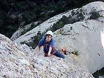 Climbing inMontserrat