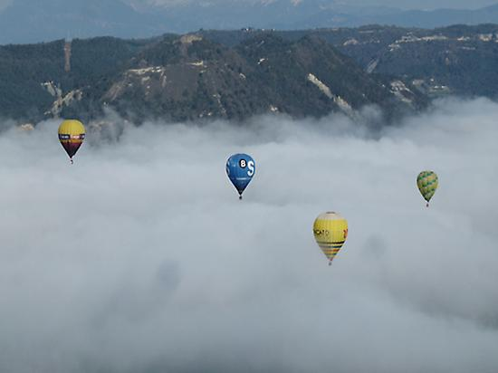 Panoramic balloon rides