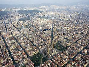 Barcelona from the top